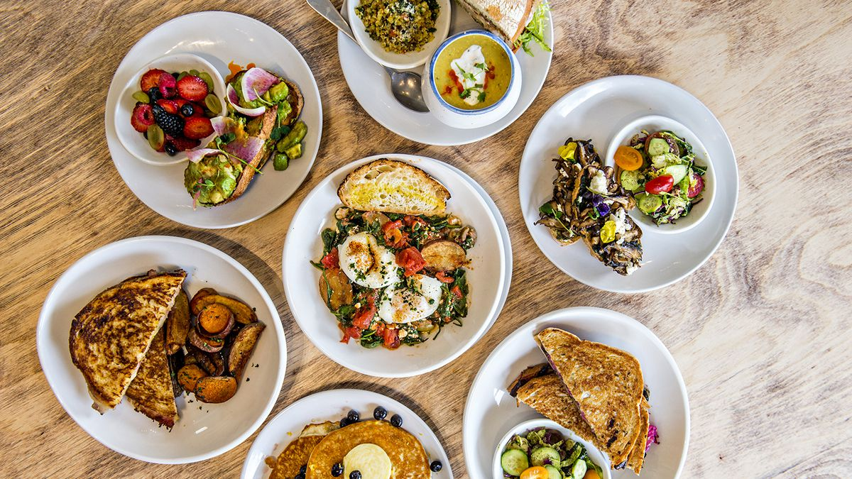 Breakfast and brunch dishes at Ivy on 7th