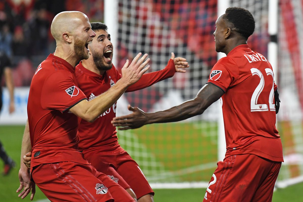 MLS: MLS Cup Playoffs-Round One-D.C. United at Toronto FC
