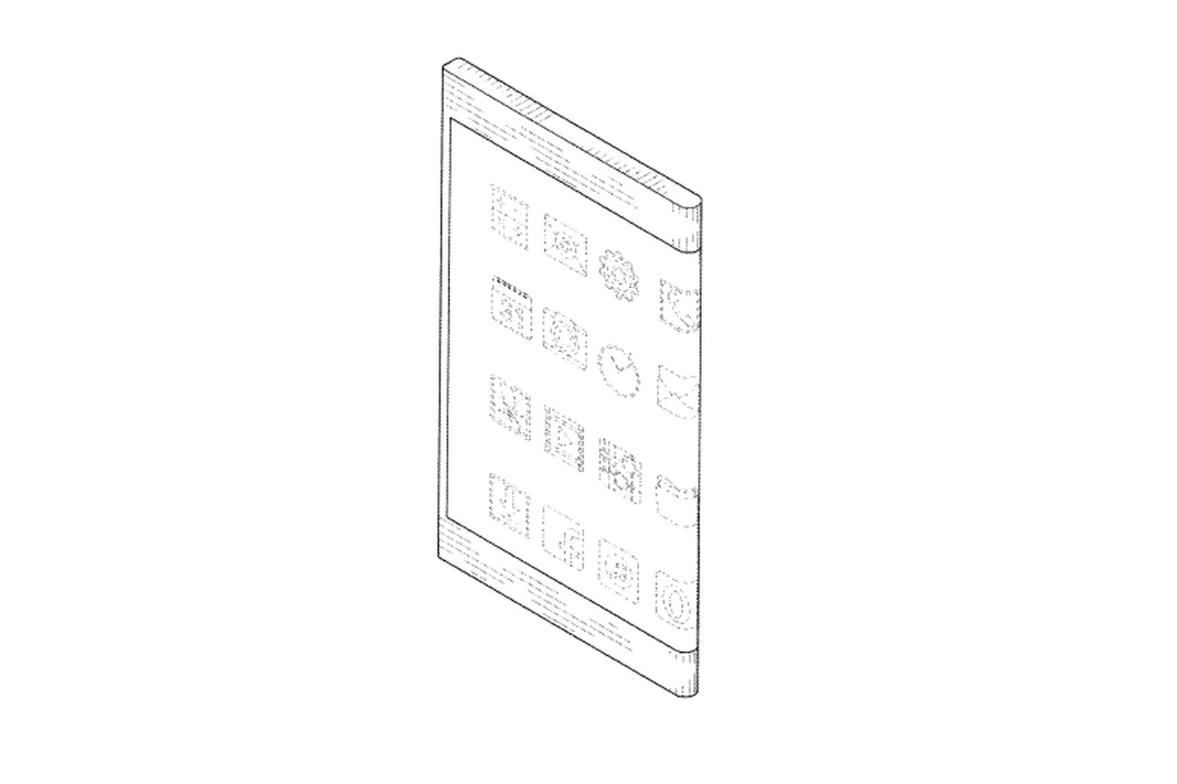 samsung s latest patent shows a phone with wraparound display