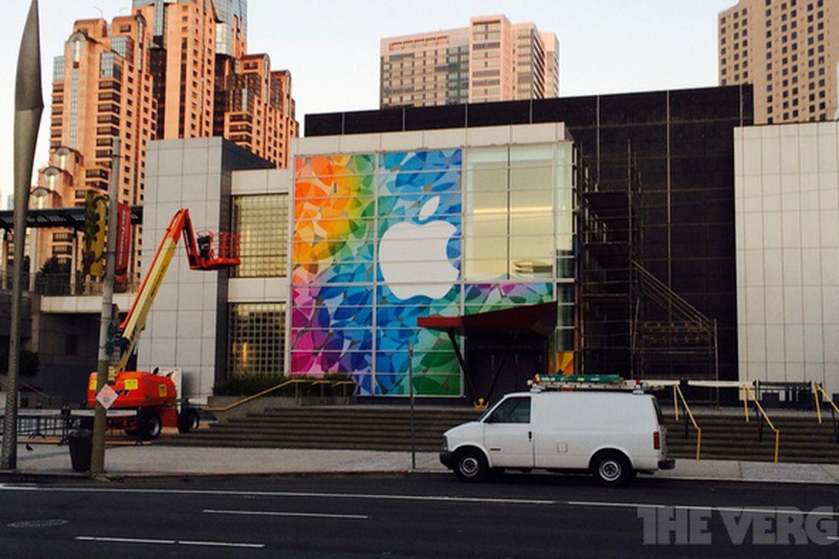 Apple iPad event setup