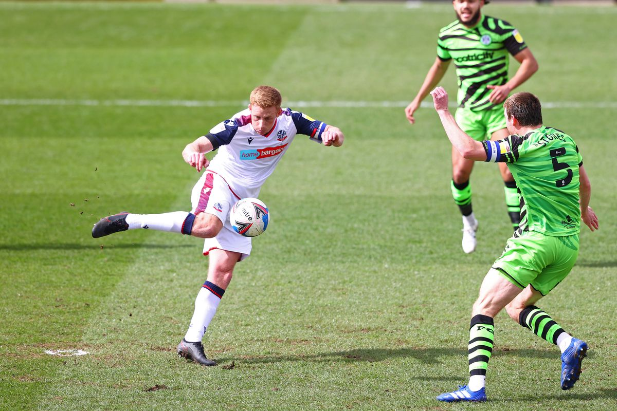 Forest Green Rovers v Bolton Wanderers - Sky Bet League Two