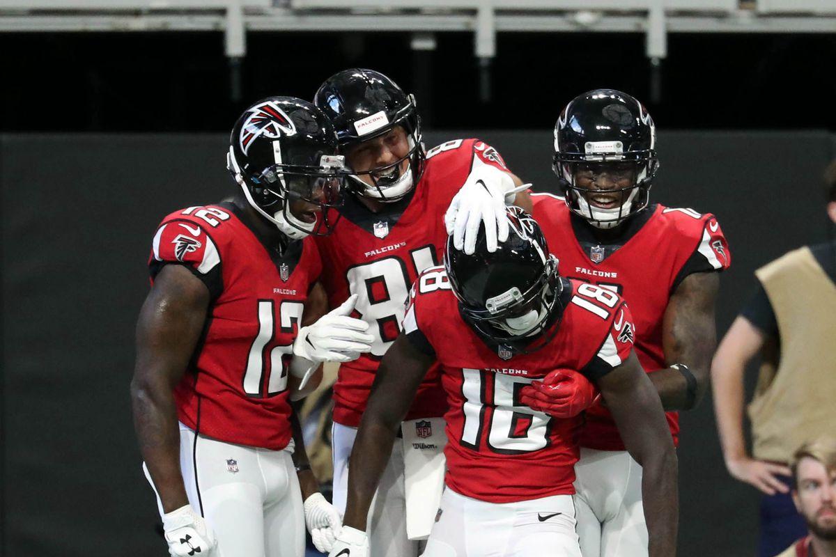 6f76f1e6f07 Do the Falcons have the NFL's best WR corps? - The Falcoholic