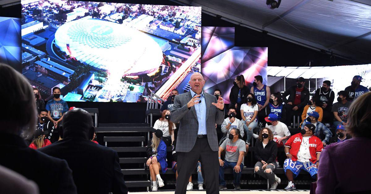 Steve Ballmer is obsessed with the toilets in his new Clippers arena