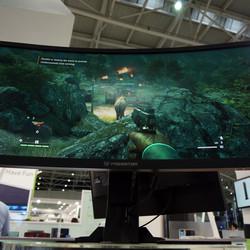 Big, curvy, and beautiful: the next generation of monitors