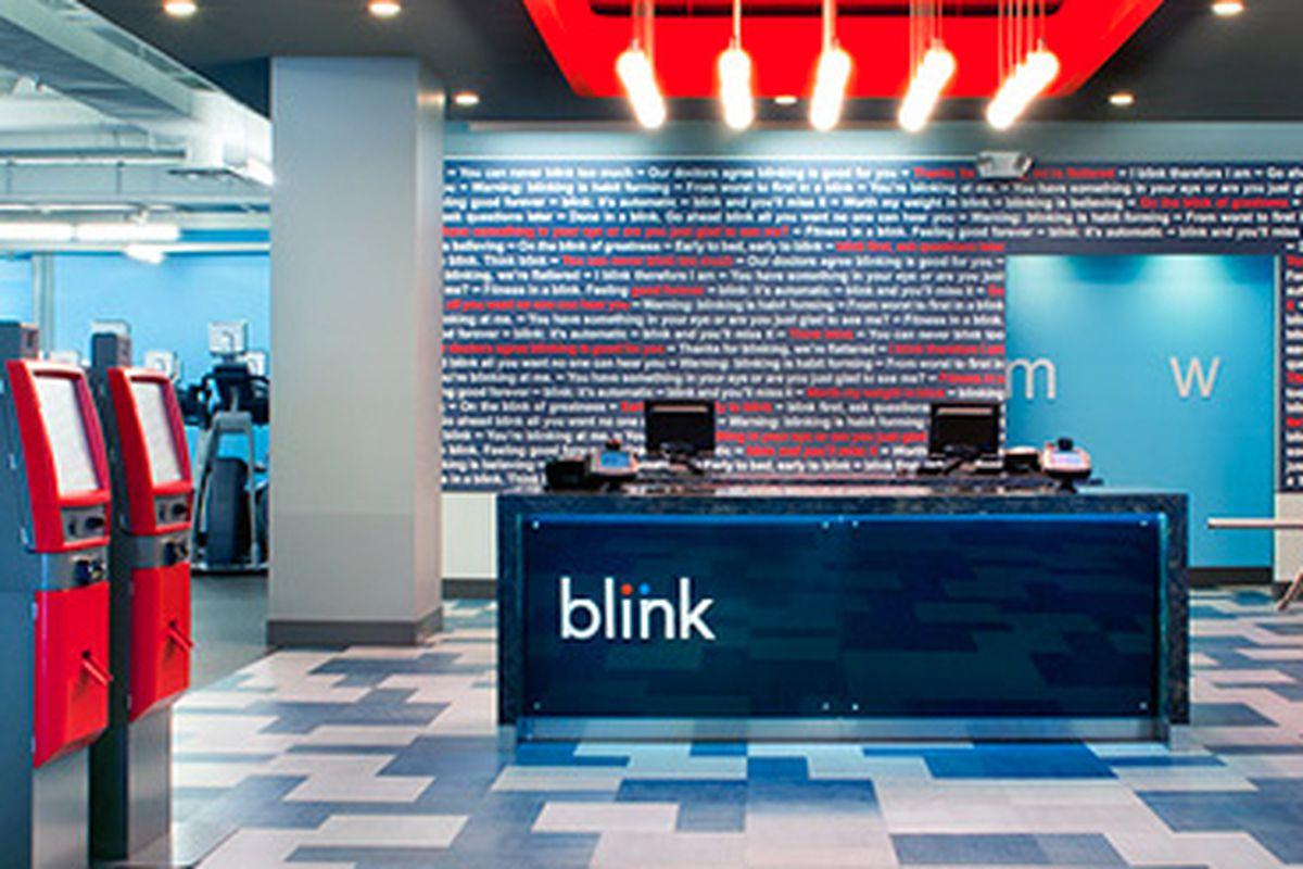 Image via Blink Fitness