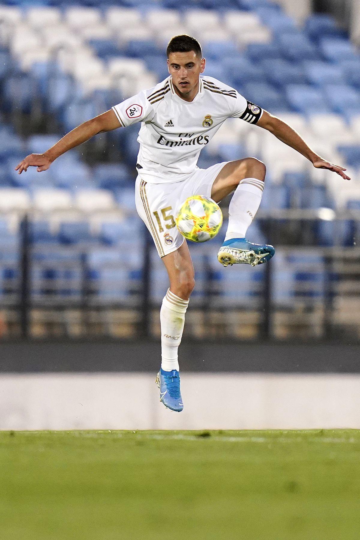 Real Madrid B v Pontevedra - Segunda Division B