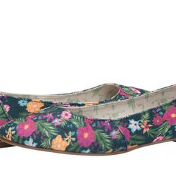 """The People's MOVMT Bali Flowers ballet flat, $55 at <a href=""""https://shop.thepeoplesmovement.com/womens/ballet-flat-bali-flowers.html"""">MOVMT</a>"""