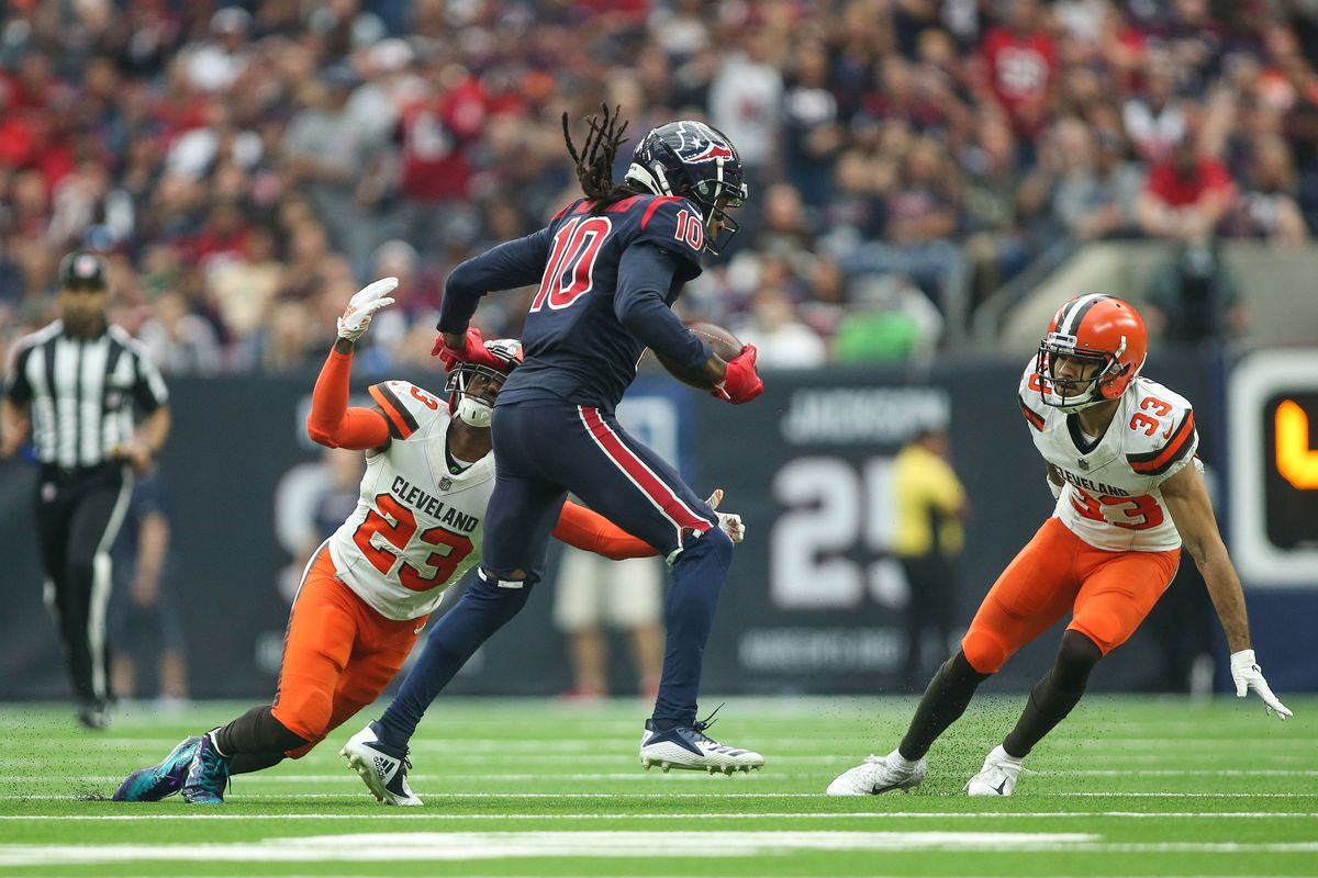 179187b7e Cleveland Browns reportedly re-sign cornerback Phillip Gaines ...