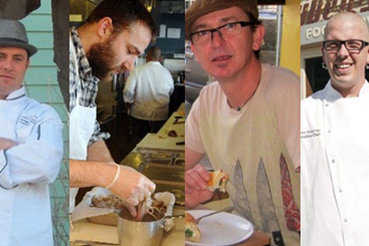 Enrique Socarras, Theo Adley, Patrick Dupays, Brandon Biederman