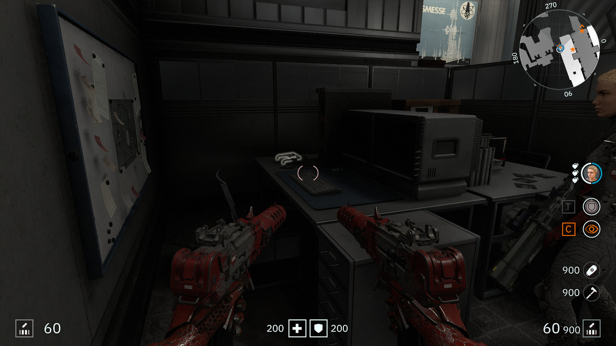 Wolfenstein: Youngblood 3D Glasses 62 Robotersoldat location