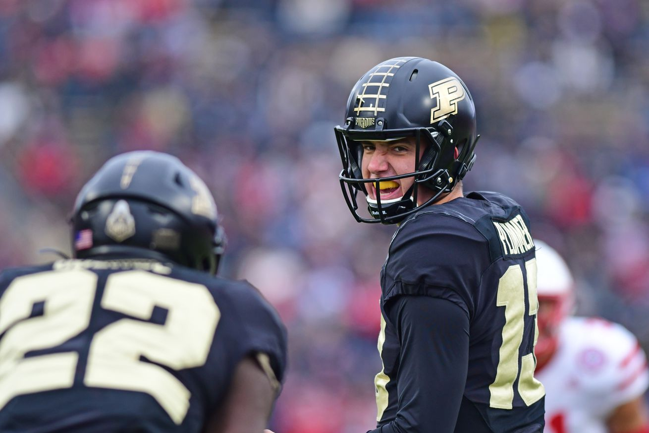 NCAA Football: Nebraska at Purdue