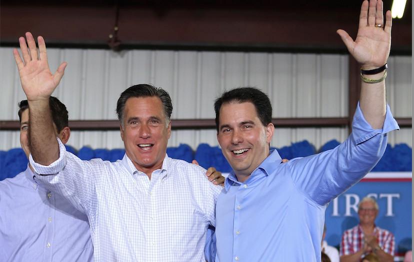 Scott Walker Romney
