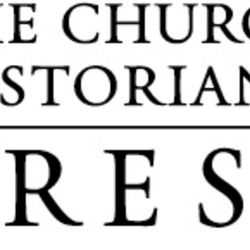 """The logo of the Church Historian's Press, which published """"At the Pulpit."""""""