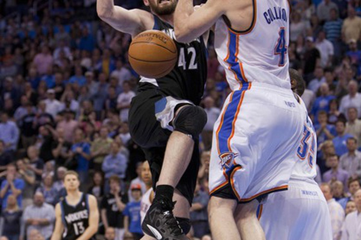 Who knew how clutch Nick Collison was?