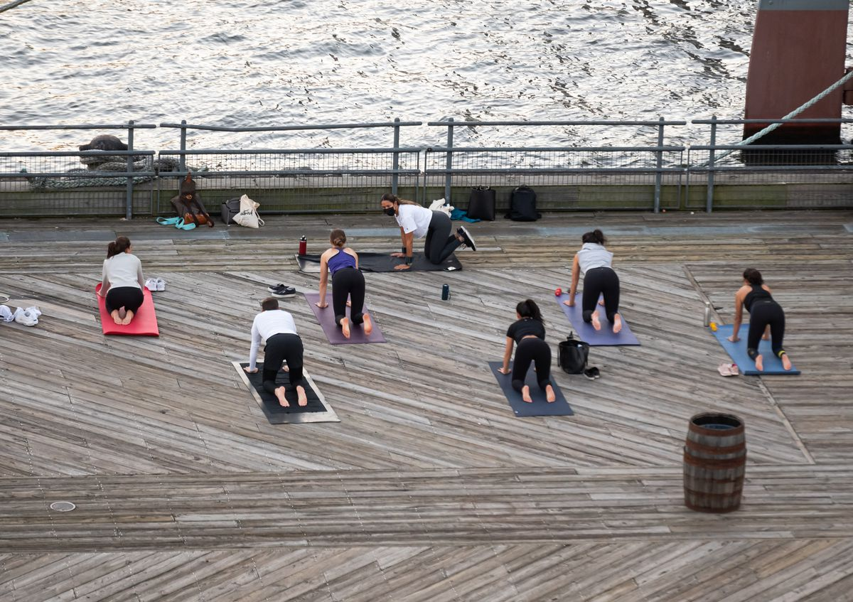 How will fitness studios and outdoor workouts survive Covid-19 during the winter?