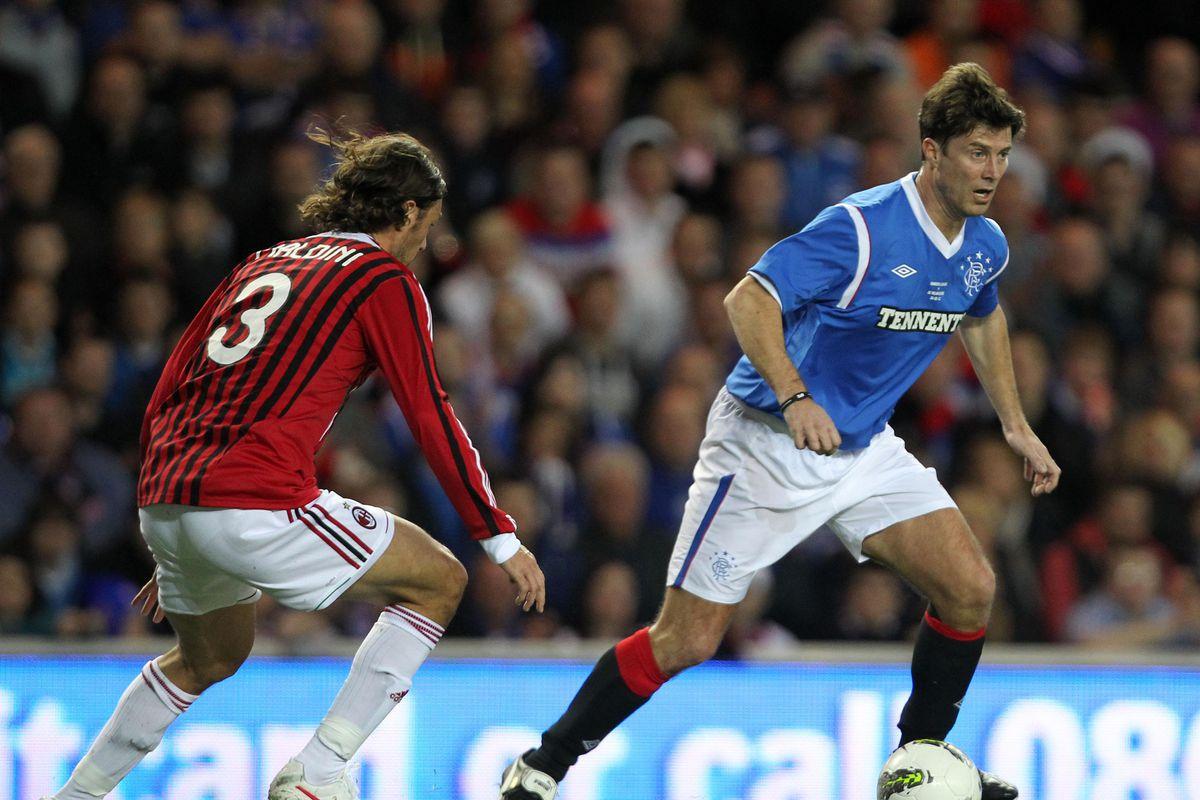 Soccer - Legends Match - Rangers v AC Milan - Ibrox Stadium