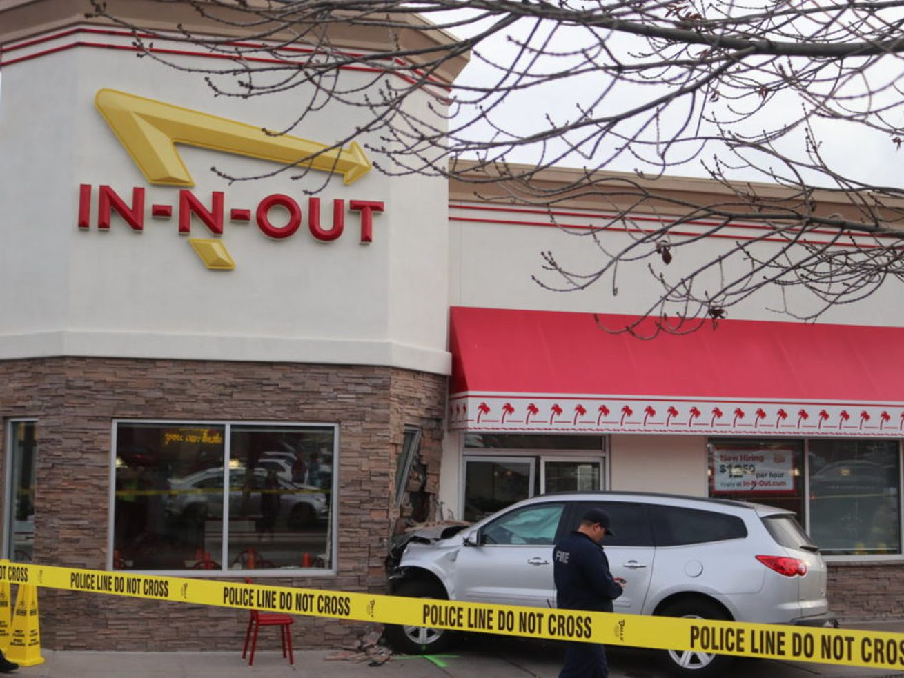 Customer dies after vehicle plows into In N Out in southern Utah