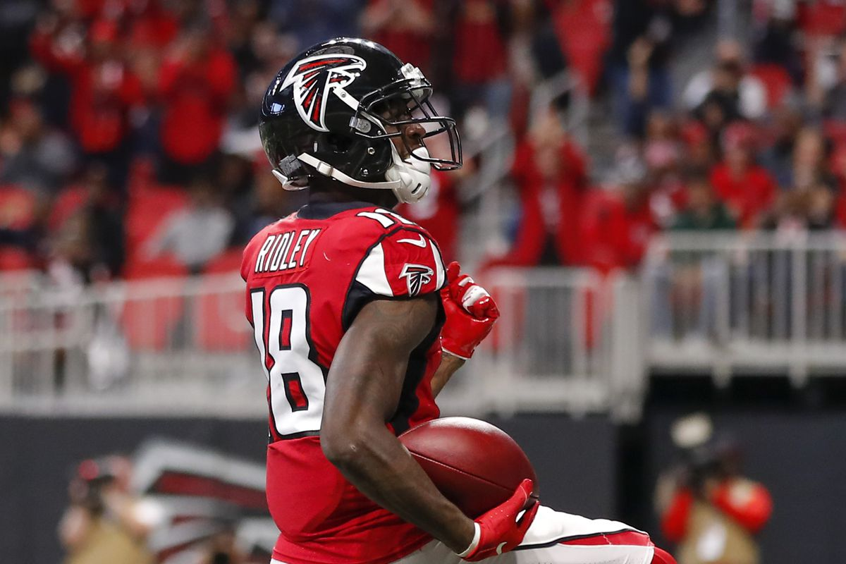 Calvin Ridley Injury Update Falcons Wr Carted Off Ruled Out Vs Panthers The Falcoholic