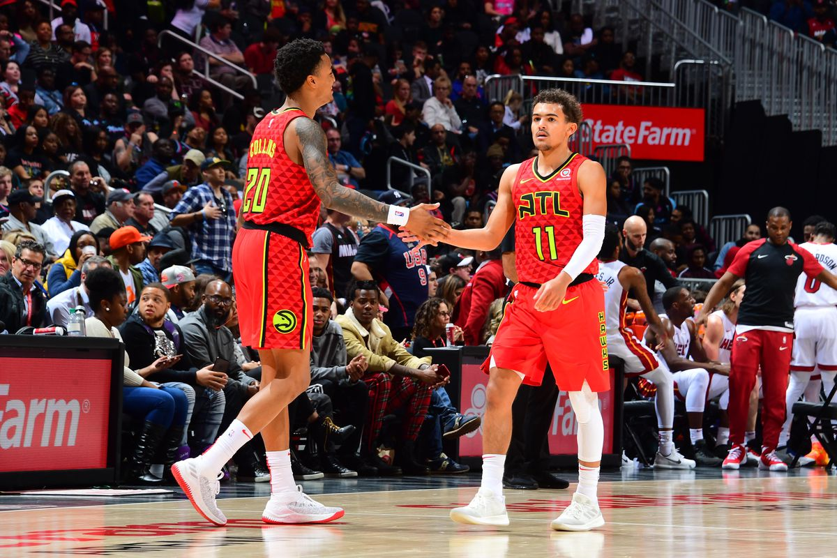 Trae Young John Collins Crack Espn S Top 50 For 2019 20 Nba