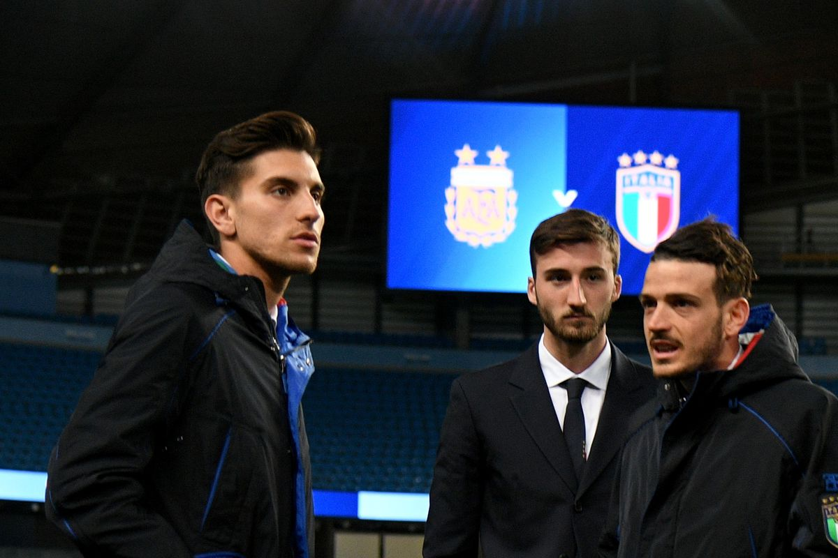 Italy Press Conference And Walk Around In Manchester