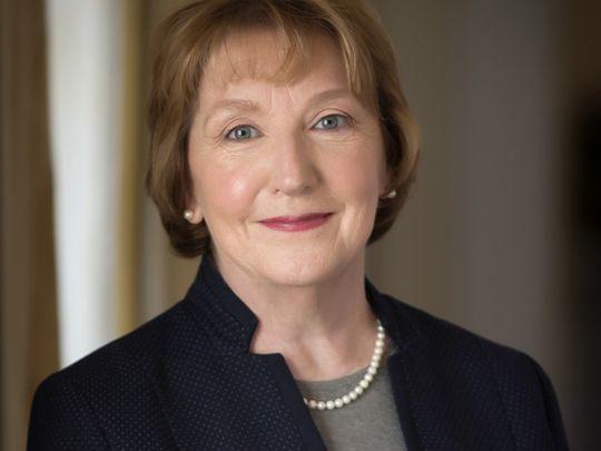 Author Eileen McNamara.