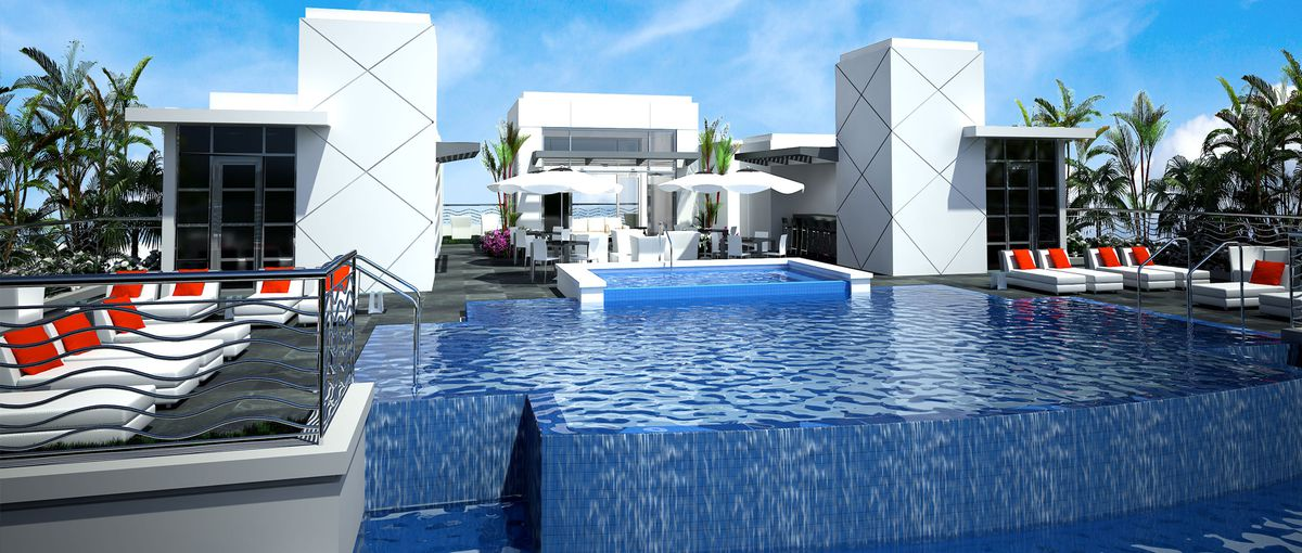 New Renderings Of Boca Raton S 327 Royal Palm Show Off