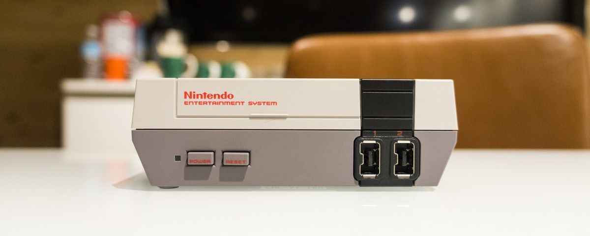 NES Classic front view