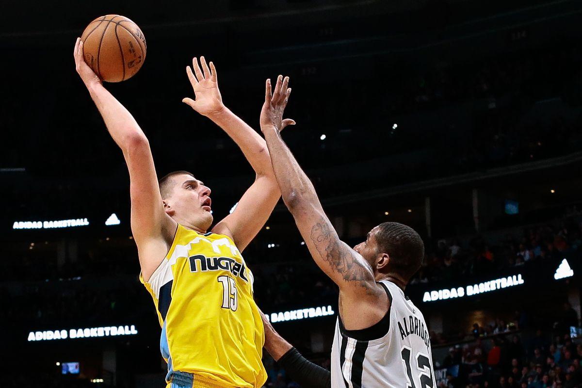 NBA: San Antonio Spurs at Denver Nuggets