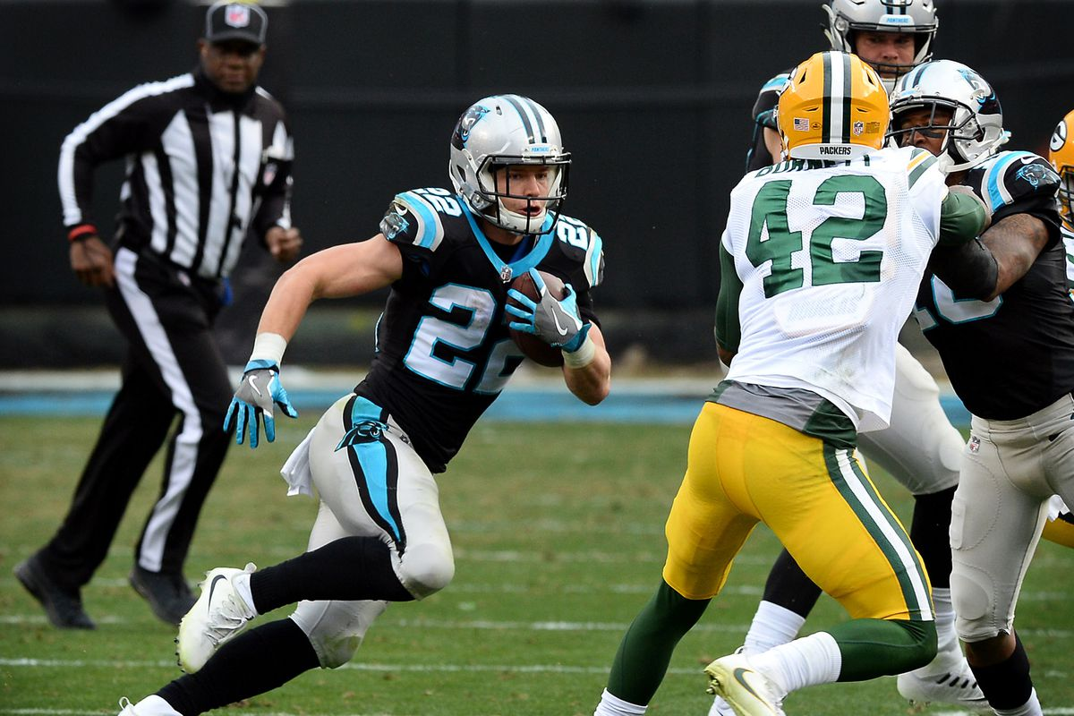How Panthersâ Christian McCaffrey is powering through NFLâs rookie wall