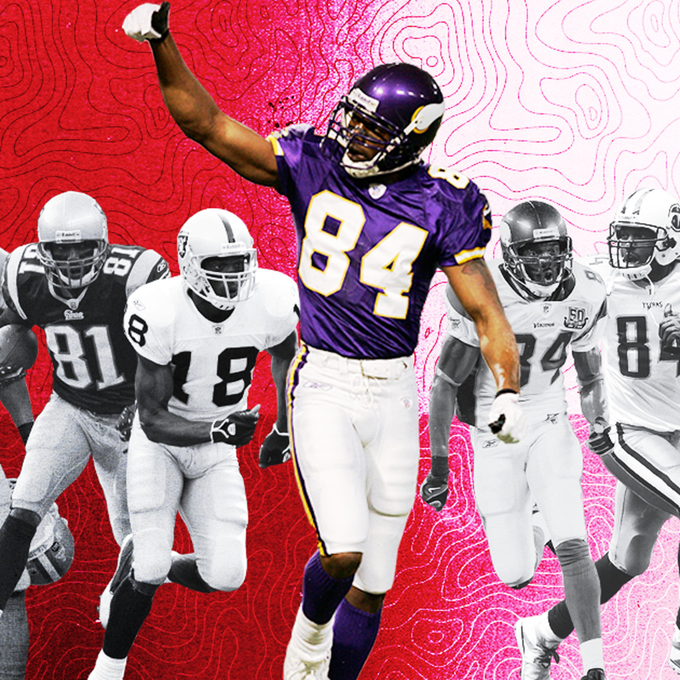 more photos f8e62 b2b32 Randy Moss' teammates, opponents share the 2018 NFL Hall of ...