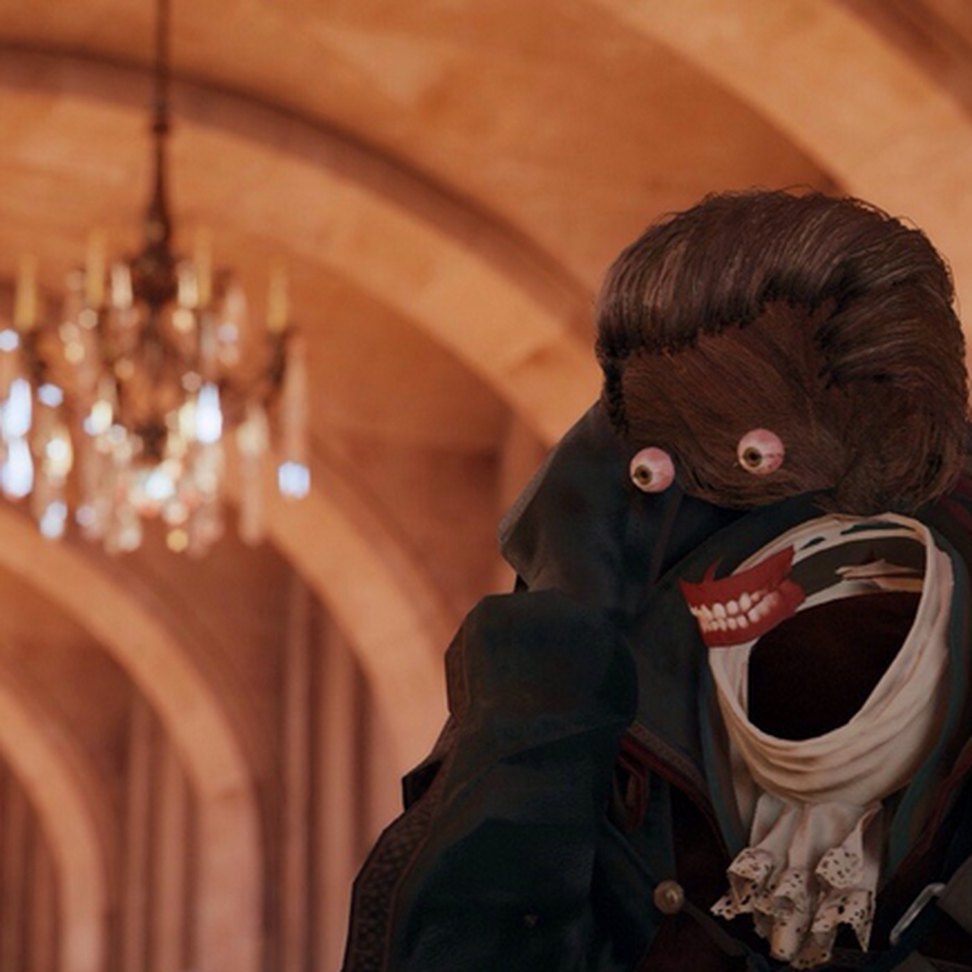 Assassin S Creed Unity Characters Should Have Their Faces Back