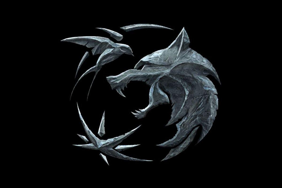 Witcher wolf symbol from Netflix show