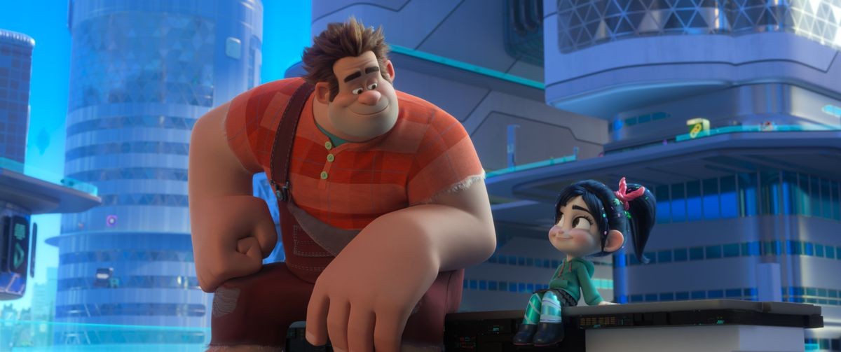 Ralph Breaks the Internet - Ralp and Vanellope