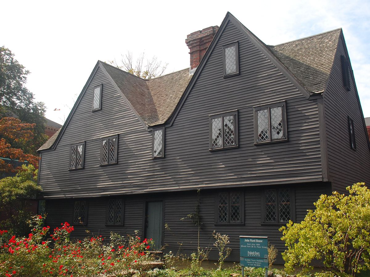 The exterior of 17th-century house.