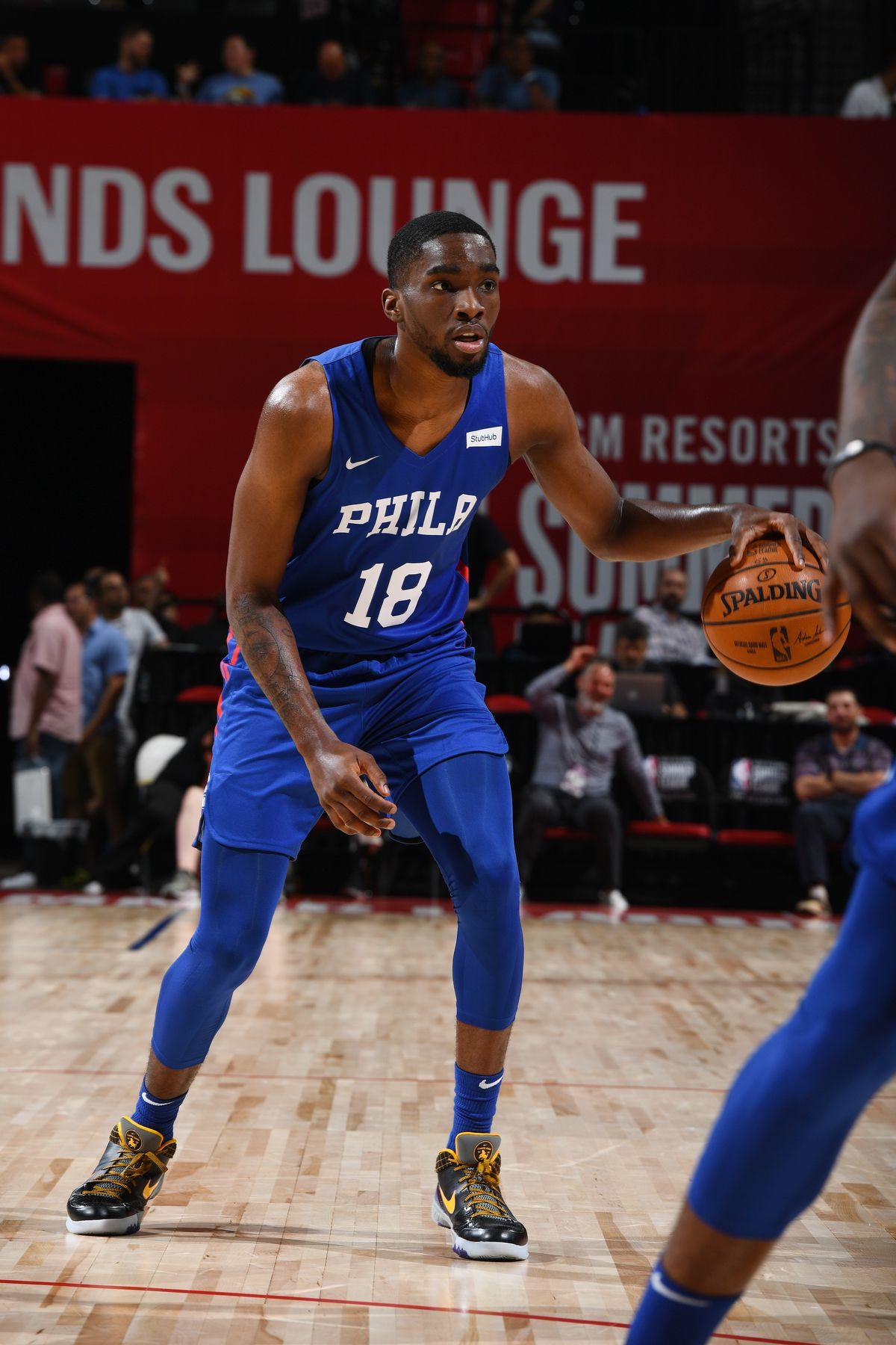 2019 Las Vegas Summer League - Day 1 - Philadelphia 76ers v Milwaukee Bucks
