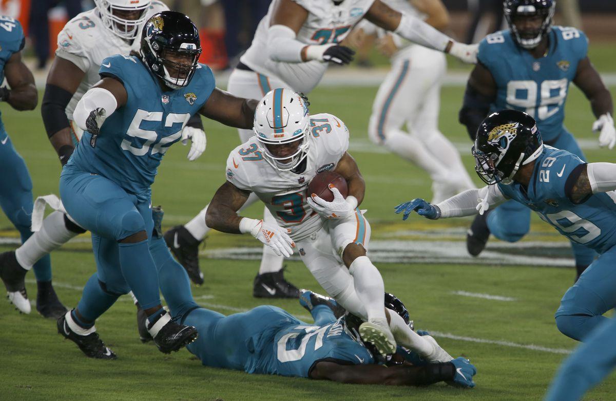 NFL: Miami Dolphins at Jacksonville Jaguars