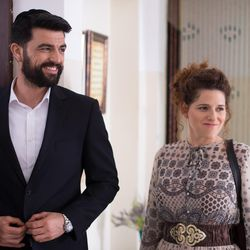 "Amos Tamam and Noa Koler in ""The Wedding Plan."""