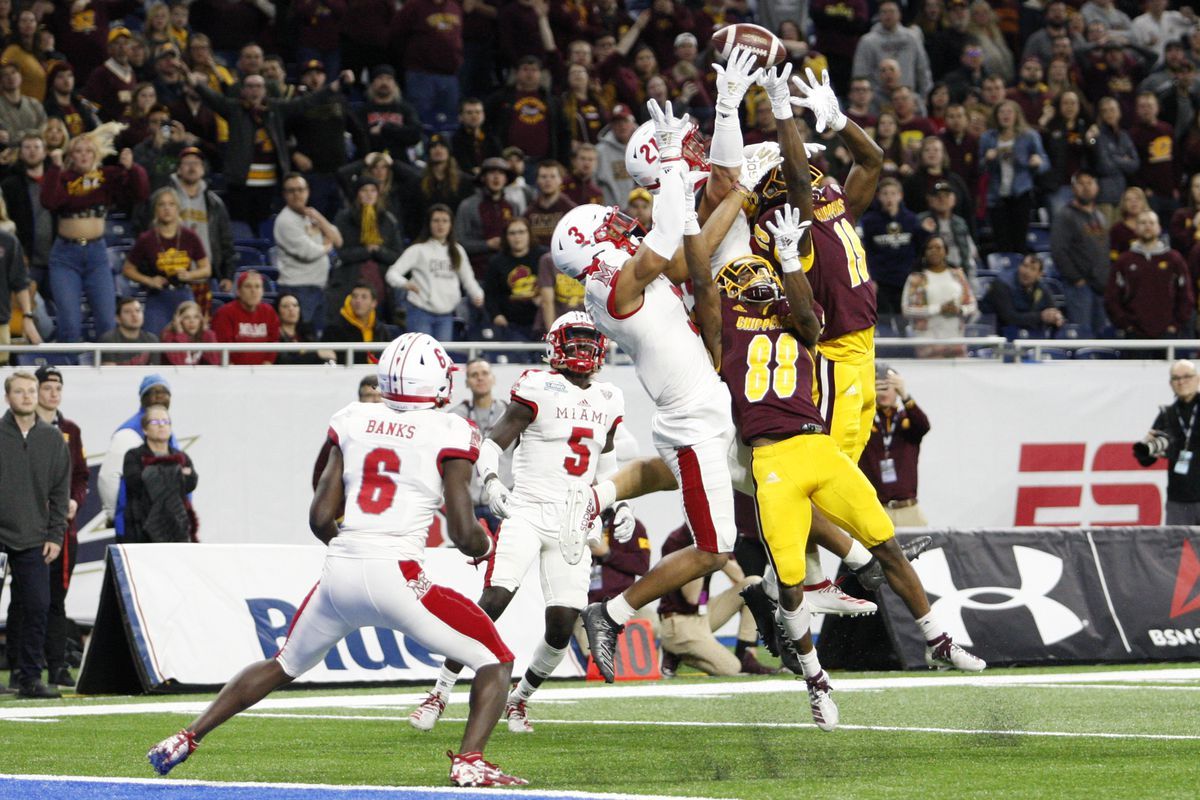 NCAA Football: Miami (Ohio) at Central Michigan