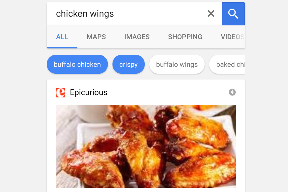Google lets you specify recipe searches with suggested flavors and in an effort to help narrow down food recipe searches to get you away from the smartphone and into the kitchen google is updating its algorithm to help you forumfinder Choice Image
