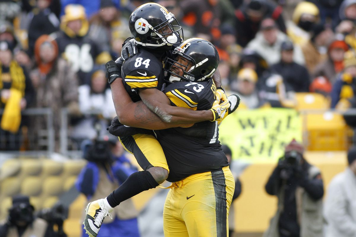 0ce802920fe Antonio Brown earns a fan for life with touching touchdown celebration in  Week 17 victory over Browns
