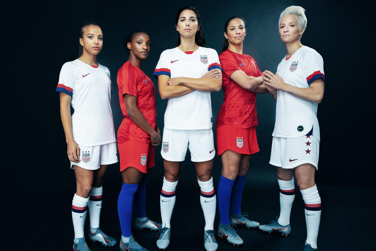 the latest 9d5fd 39ff3 The new Nike USWNT kits for the 2019 World Cup are so damn ...