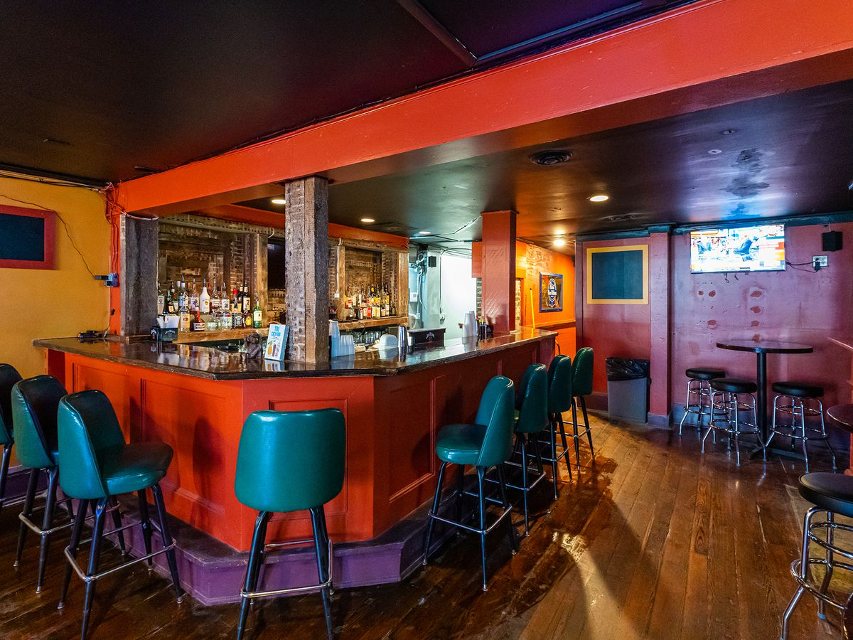Interiors at the newly remodeled Bangkok Lounge, formerly the Upper Deck Tavern.