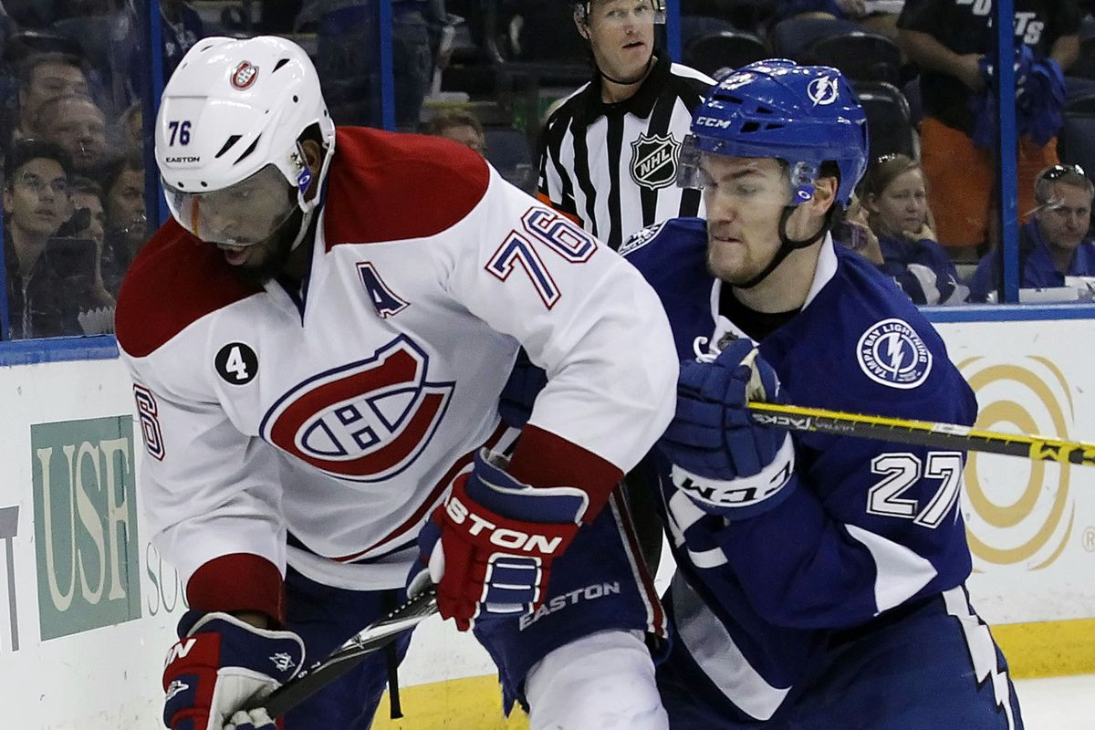 Two names of note as we approach the 2016 NHL Trade Deadline are the Montreal Canadiens defenseman P.K. Subban and the Lightning's Jonathan Drouin.