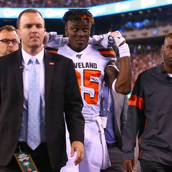 September 2019: Some key early-season injuries kept players out way longer than expected, including WR Rashard Higgins, TE David Njoku, CB Denzel Ward, and CB Greedy Williams.