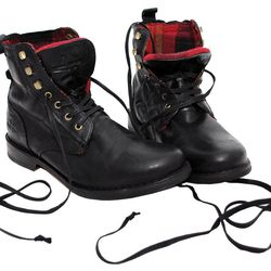 """J Shoes Men's High Gate: originally $210, now $136.59. """"Warm, cozy flannel lined boot for men."""""""