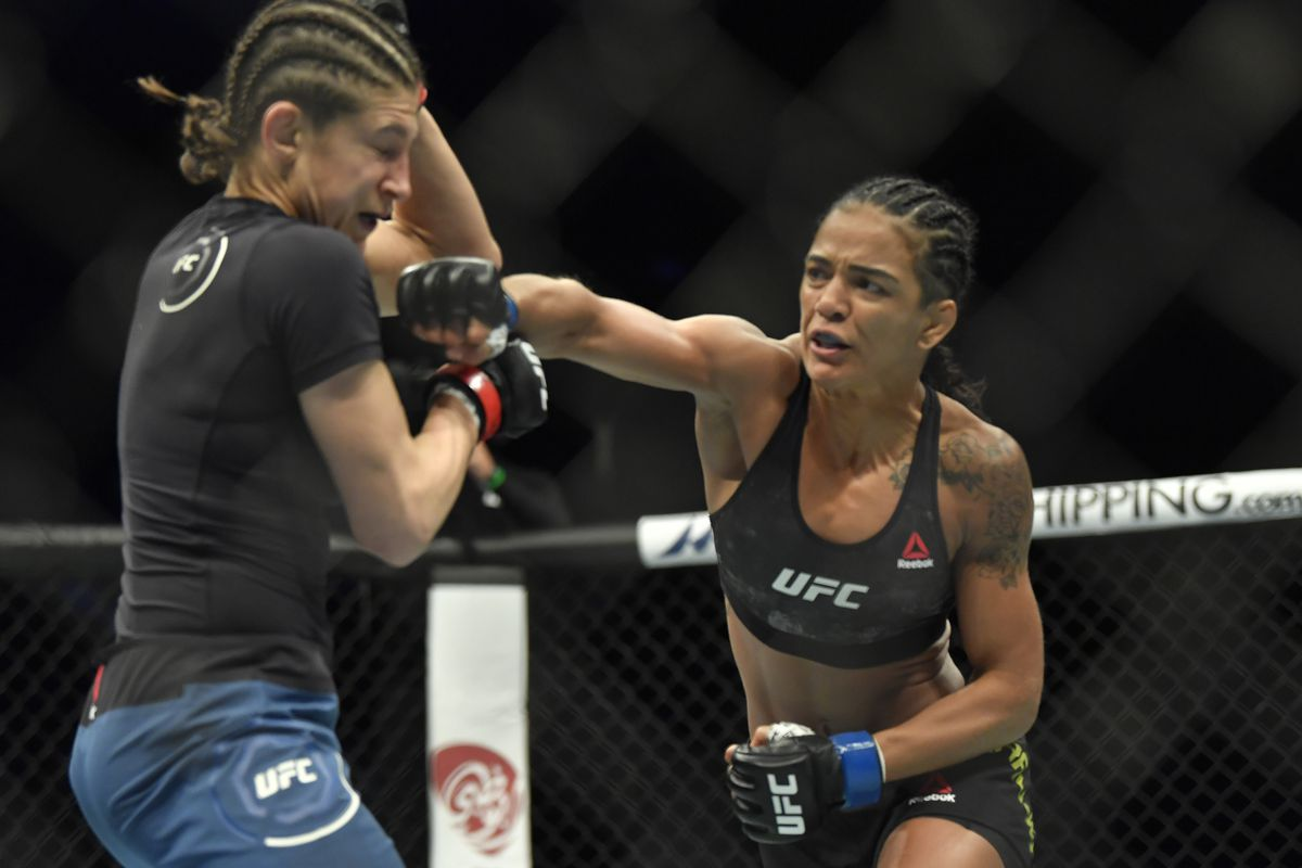 UFC Fight Island 8 results: Viviane Araujo punishes Roxanne Modafferi over  three rounds to win lopsided decision - MMA Fighting