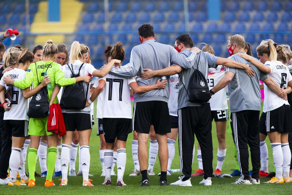 Montenegro Women's v Germany Womens's UEFA Women's EURO 2022 Qualifier