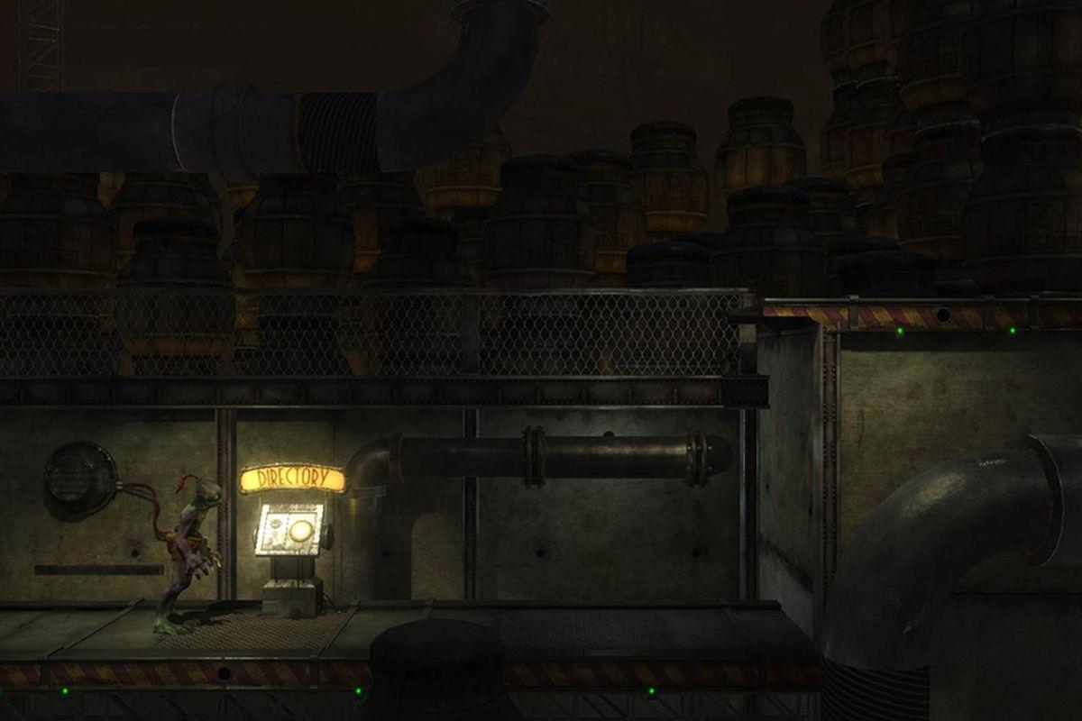 Oddworld: Abe's Oddysee remake