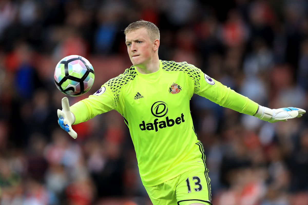 Everton signing Jordan Pickford England hero for U21 Euros Sweden draw