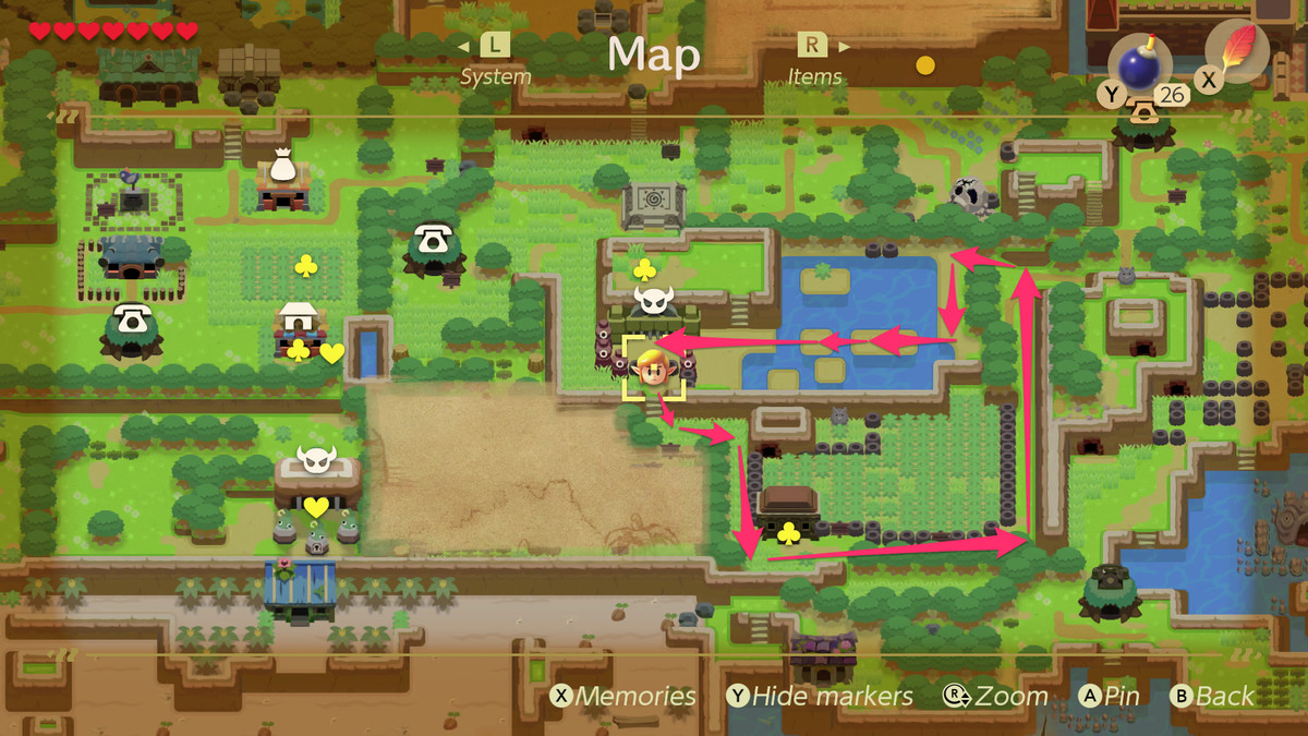 Link S Awakening Key Cavern Walkthrough And Maps Polygon